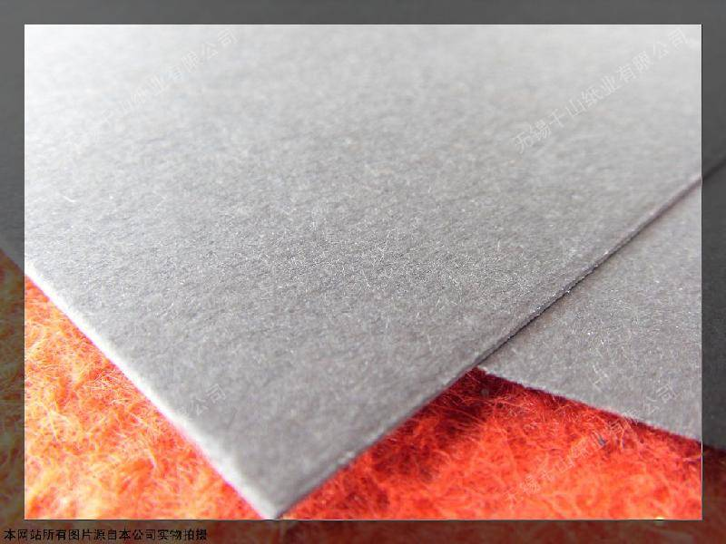 laminated grey cardboard with good stiffness for profile folder