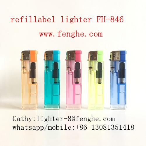 FH-846 refill gas lighter electronic cigarette lighter