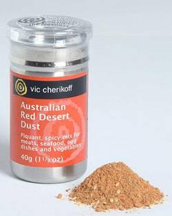 Red Desert Dust