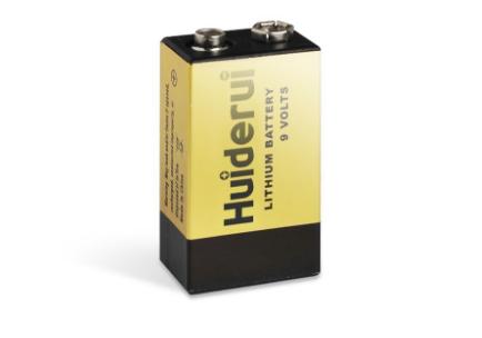 Huiderui Lithium Battery 9.0V 1200mAh CP9V for smoke alarm