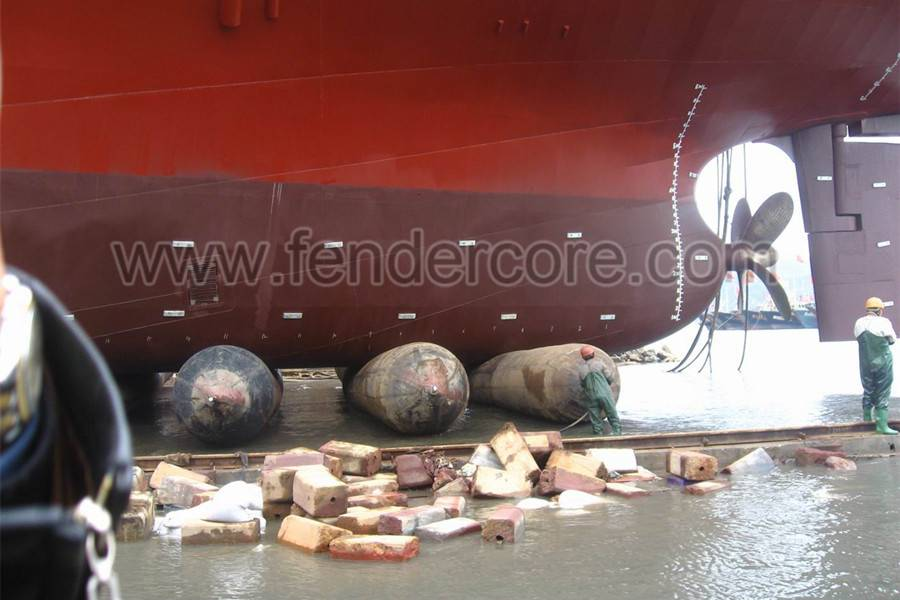 widely used as roller rubber ship launching airbag