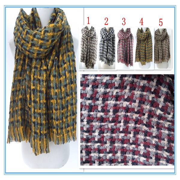 2014hot sales!PG1203 women winter warm scarf inmitate pashmina scarf