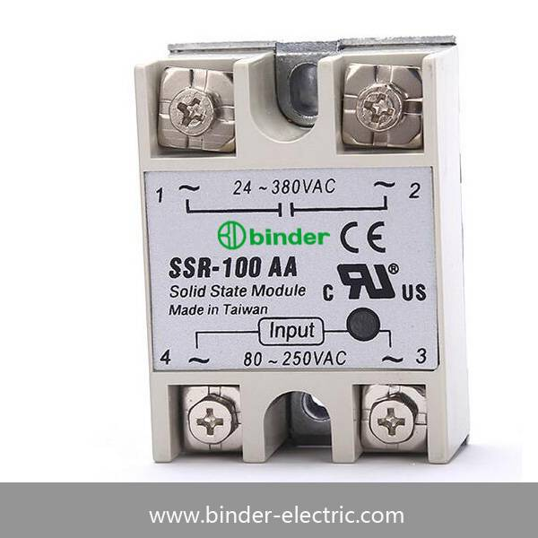 SSR-100AA,SSR-90AA,SSR-60AA,SSR-40AA,SSR-25AA,SSR-10AA Single phase AC to AC solid state relay