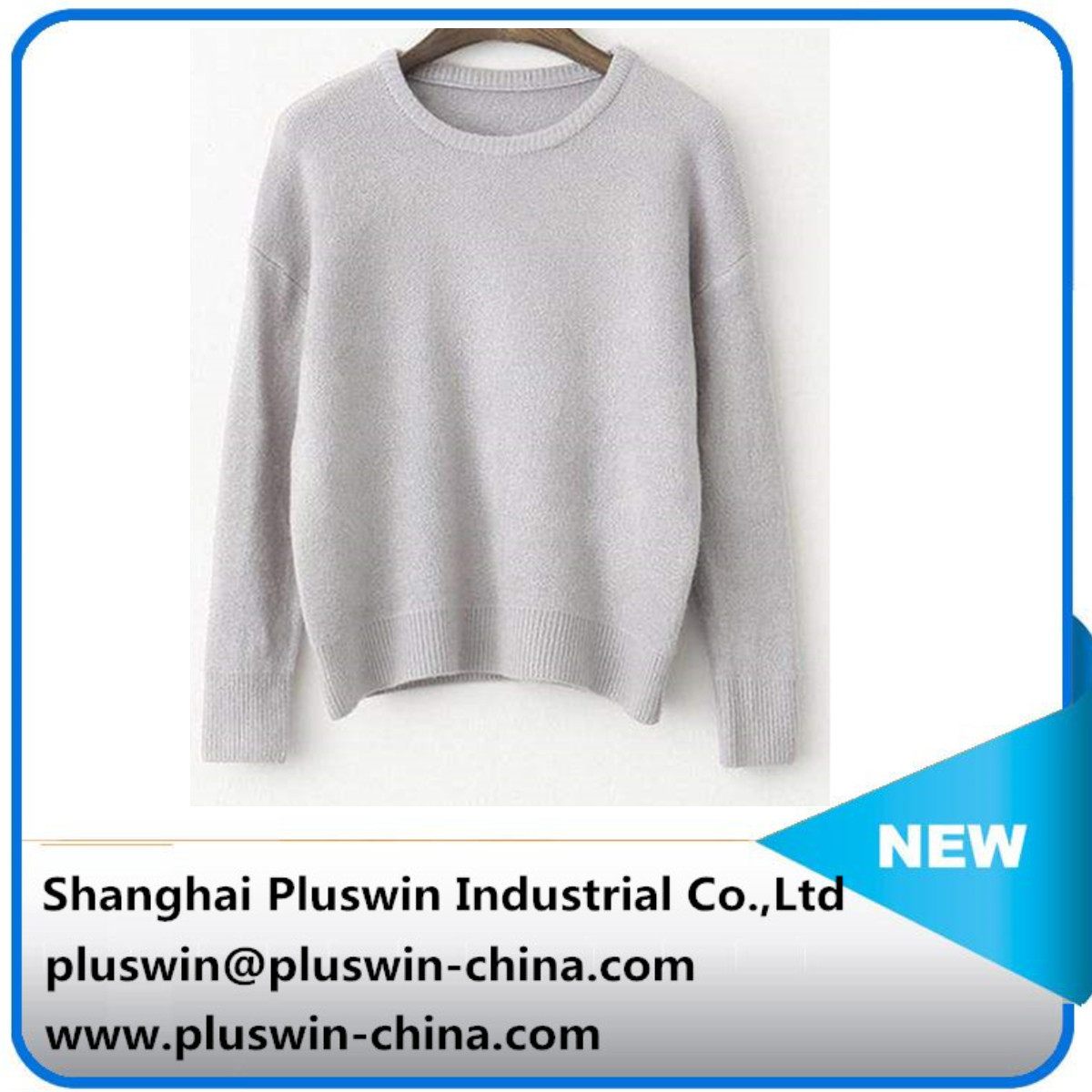 Hot sale high quality OEM women's cashmere sweater