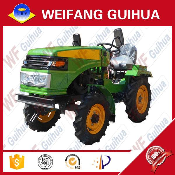 2016 year hot sales LHW 15 hp farm mini tractor