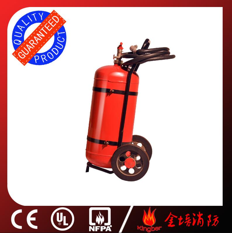 50L Trolley Cold-Roll Steel Foam&Water Extintor for Warehouse Using with CE Standard