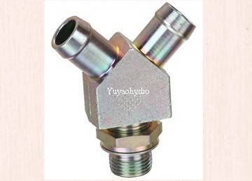 hose barb tail connector with adjust nut pipe fittings
