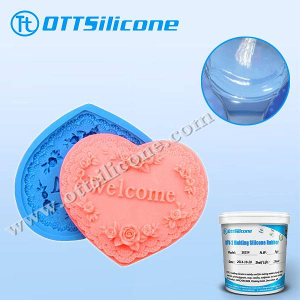 Platinum Cure Molding Silicone Of Food Grade