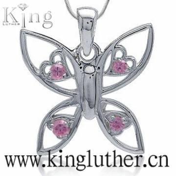 fashion 925 butterfly pendant
