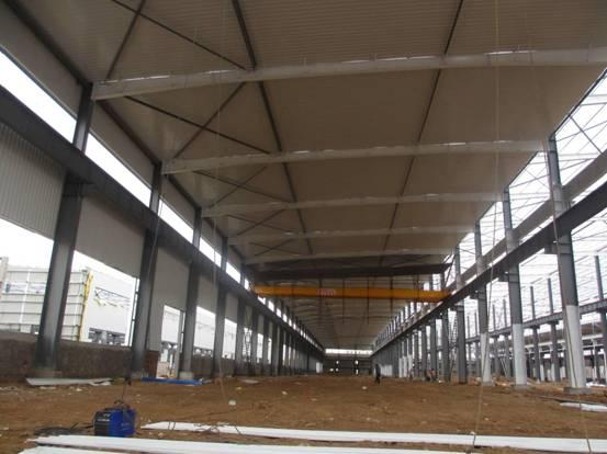 steel structure warehouse processing