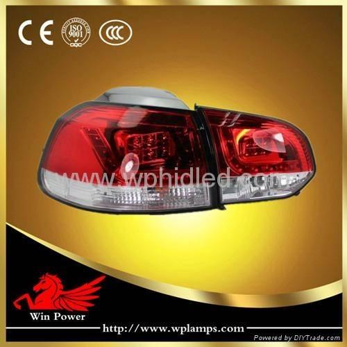 VW Golf 6 LED Tail Light Volkswagen Golf 6 Tail Light