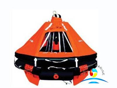 Marine 25 Man International Voyages Inflatable Liferaft