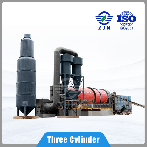 ZJN Sludge Drying Equipment Triple pass for Active sludge drying