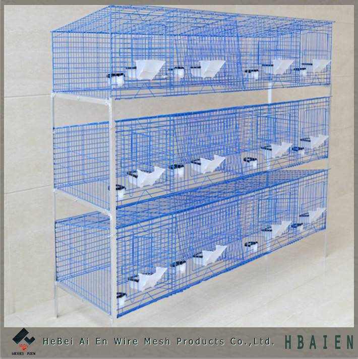 wire mesh industrial metal rabbit cages
