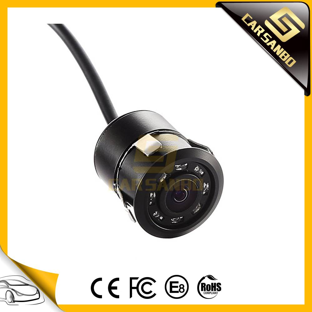 18mm rearview camera with LED light(IR LED optional)