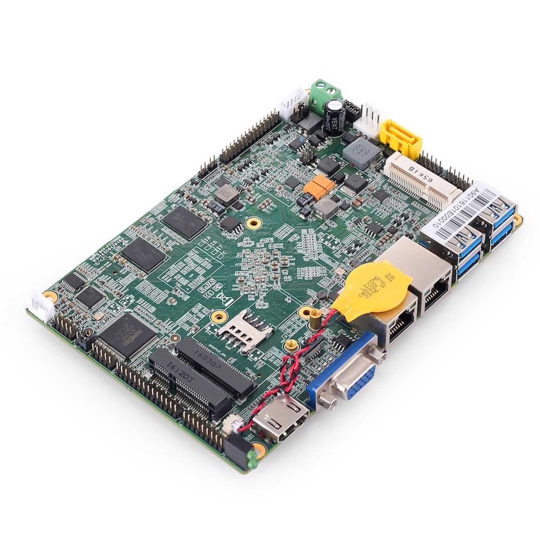 Intel Apollo Lake CPU based Fanless Industrial Embedded Mainboard ENC-A901 Single Board Computers