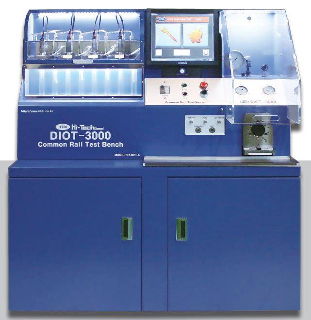 Common Rail Diesel Injector & HP Pump Tester