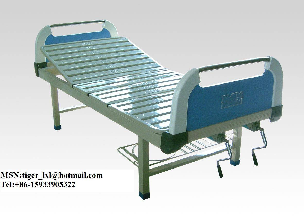 Double shakes hospital bed A-49