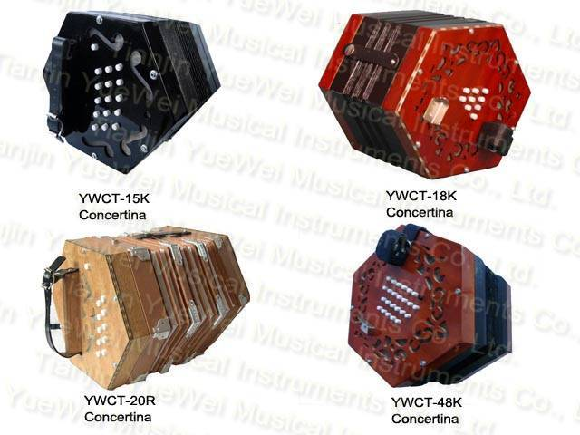 concertina musical instrument
