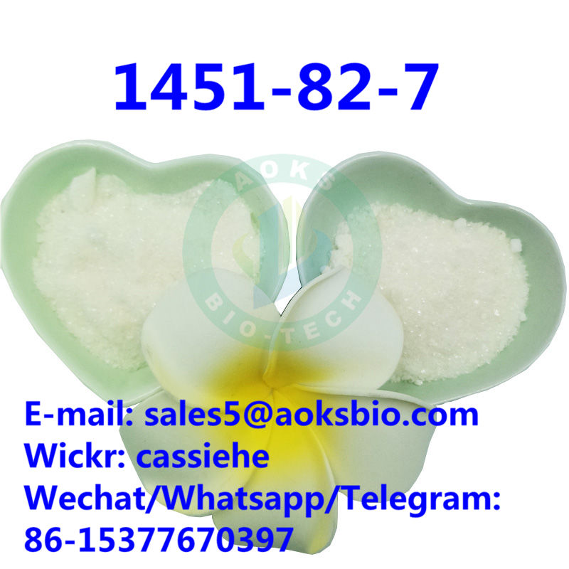 100% Safe Delivery 2-Bromo-4-Methylpropiophenone CAS 1451-82-7