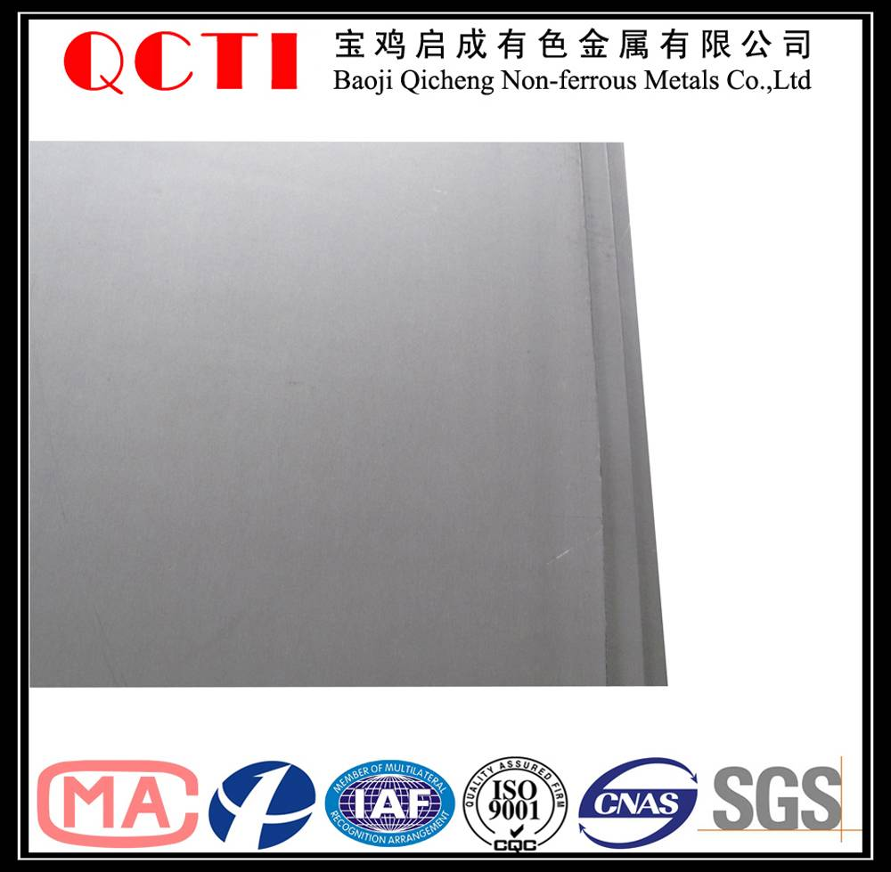 GR5 TC4 Titanium Alloy Sheet Price Per Kg