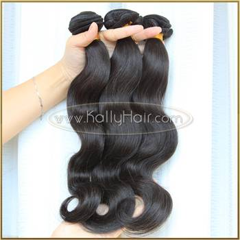 20 Inch Body Wave Brazilian Natural Black Hair Weave