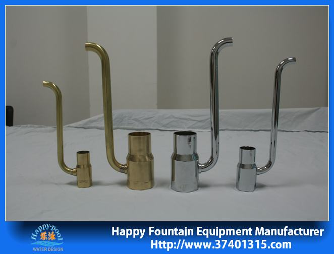 stainless steel or copper mater foam nozzle water fountain