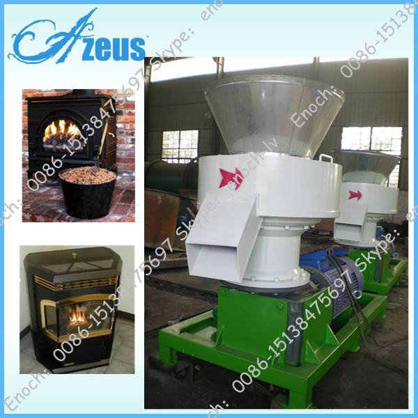 Automatic Wood Pellet Machine Pellet Mill Ce Approved