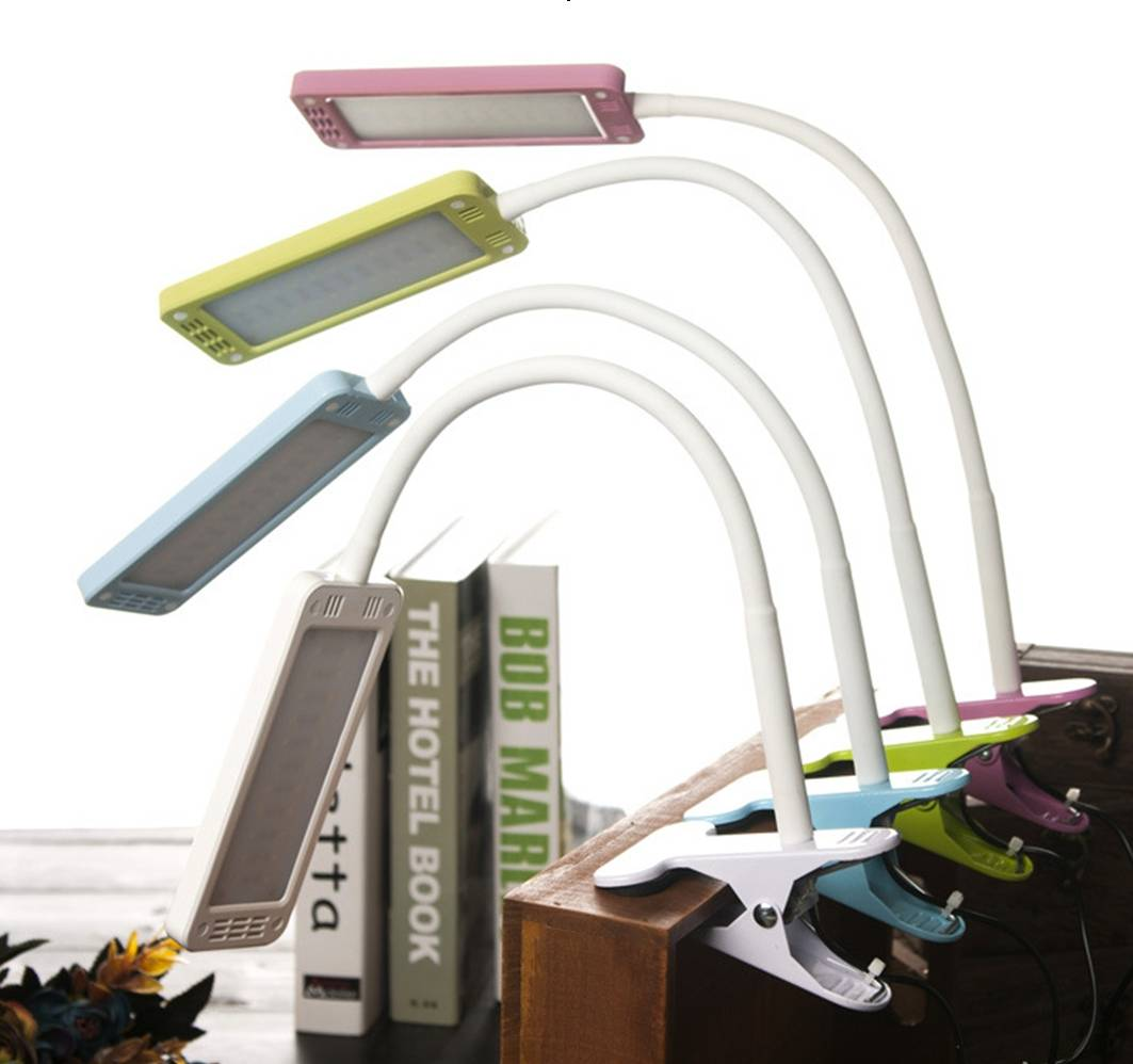 LED Table Lamp with clip clamp