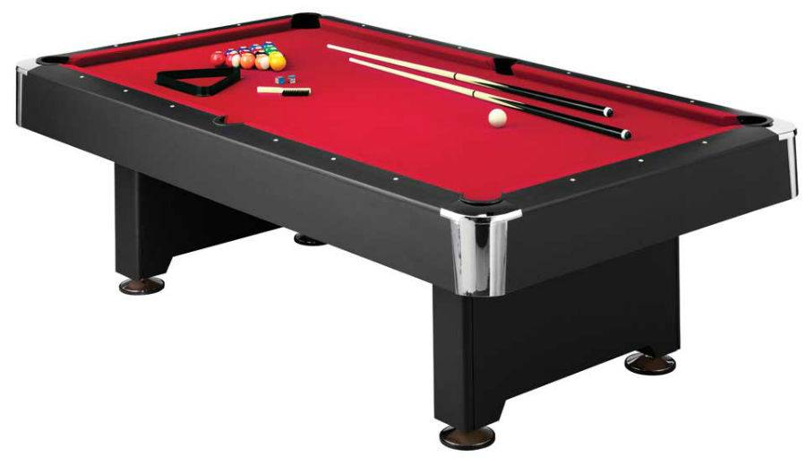 8ft american pool table