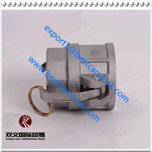 Aluminum cam lock groove quick coupling type D
