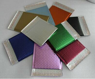 Color poly bubble padded mailer envelopes,mailing bags