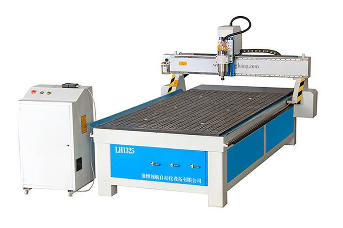 Single head vacuum adsorption cnc router