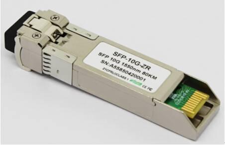 10G SFP+ transceivers,dual fiber,SM,80KM