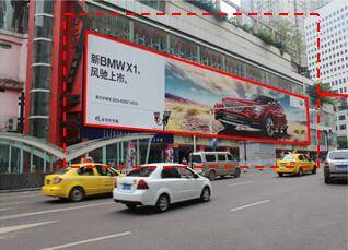 China Chongqing available advertising locations for rent