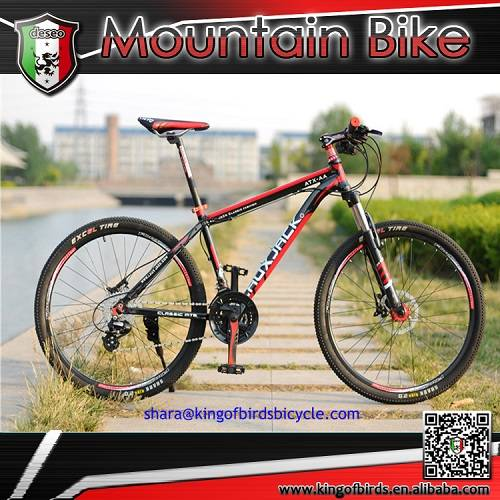 aluminum alloy MTB new style mountain bike with 24 speed