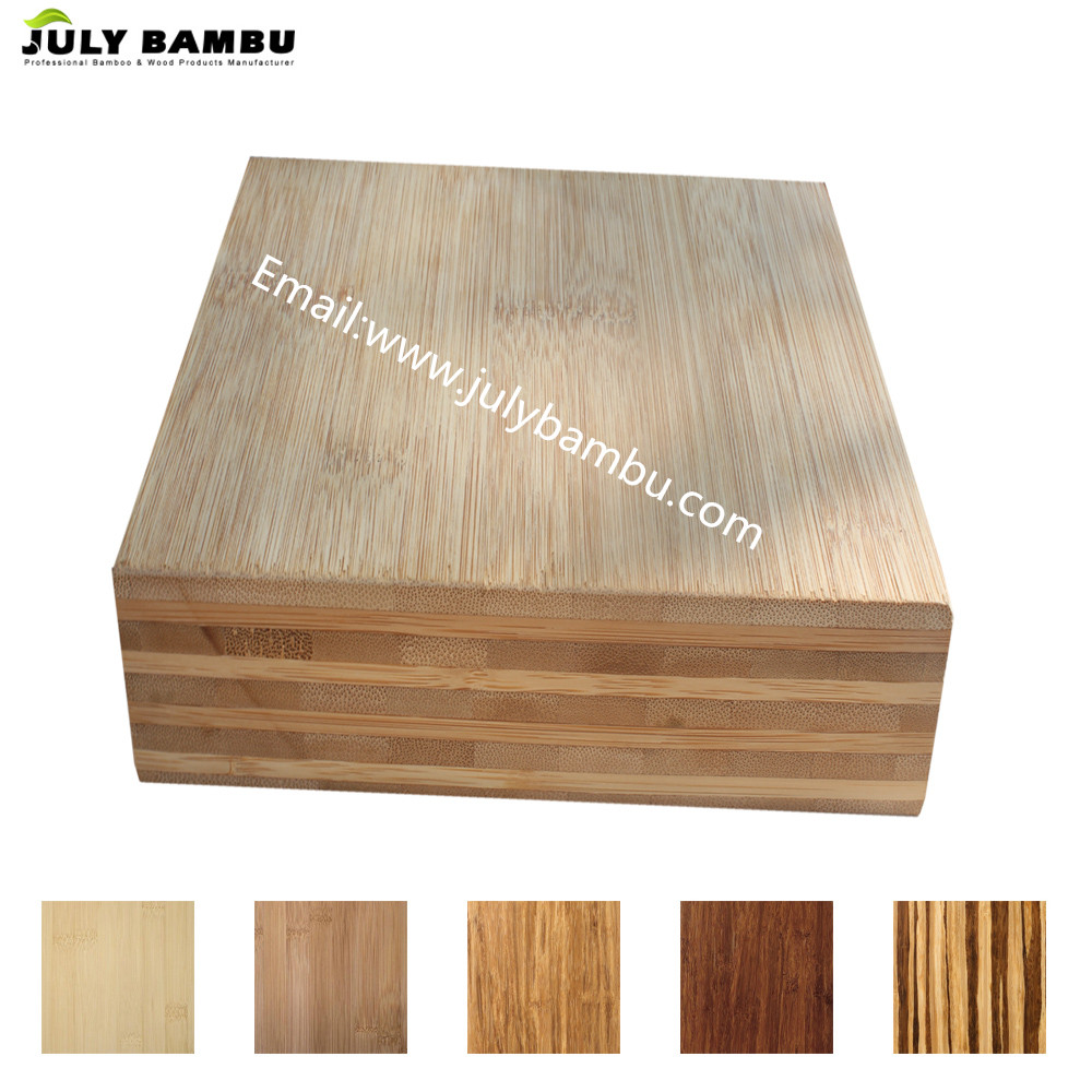 100% Solid Laminated Bamboo Plywood 9-Ply Bamboo Furniture Board for Sale