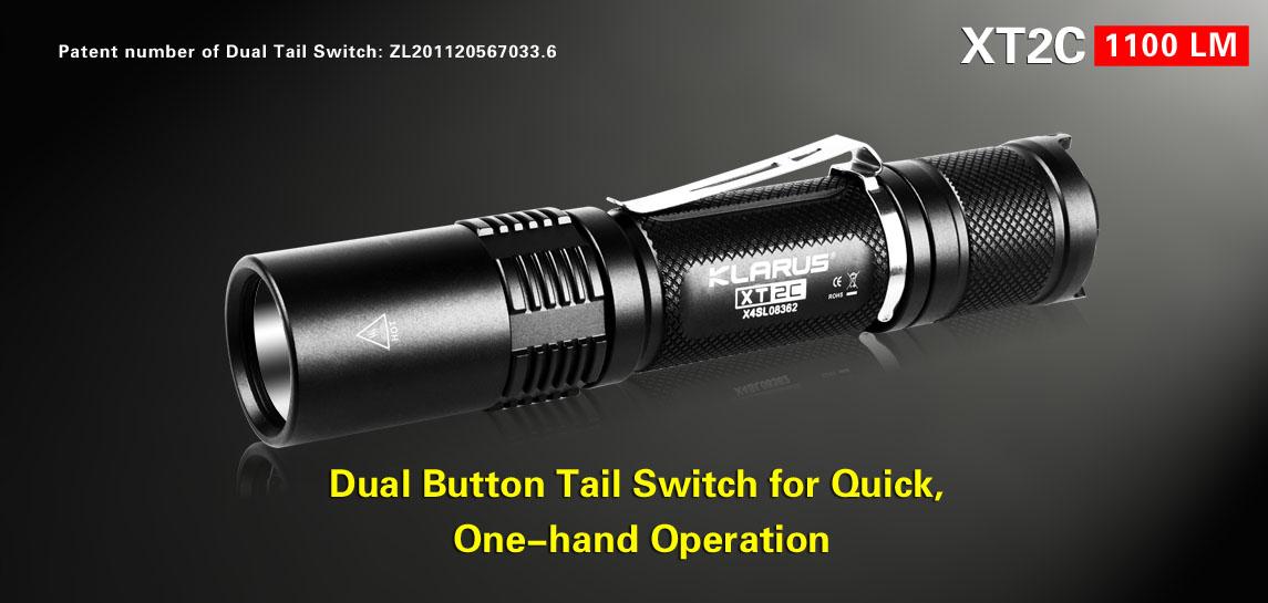 Tactical Flashlight-Klarus XT2C