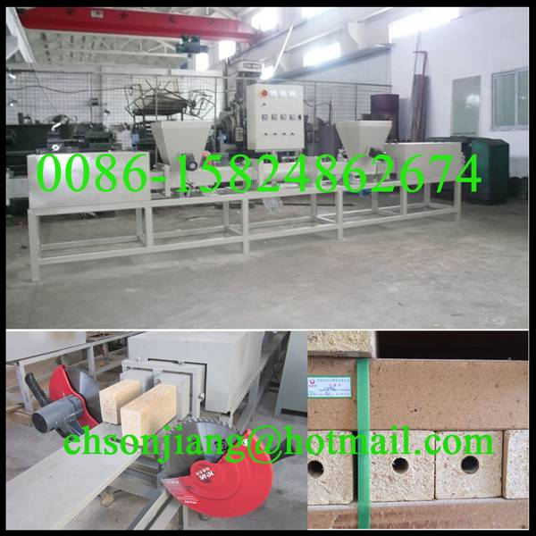 Sawdust Block Making Machine/Wood Block Hot Press Machine