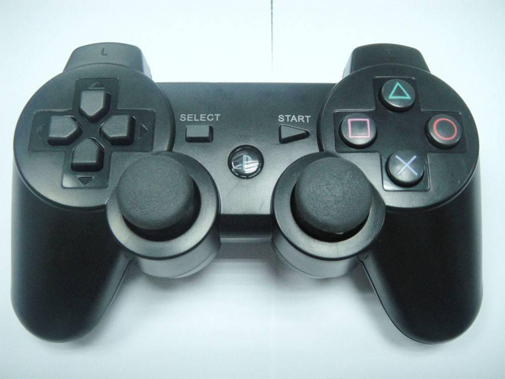 video game accessories of PS3 wireless dualshock sixaxis joystick controller