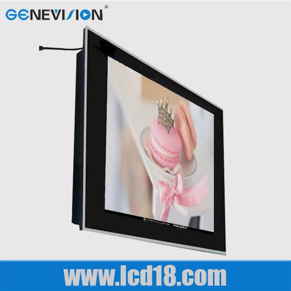 "42""indoor application wall mount advertising player with wifi,3G network and touch screen optional"