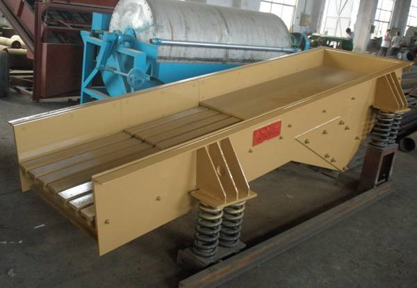Electromagnetic Vibrating Feeder with High Efficiency