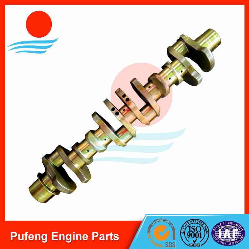 Mitsubishi 6D24 6D24T crankshaft ME996148 for excavator and crane