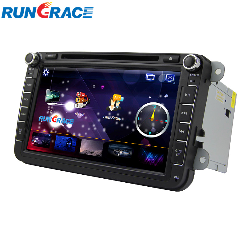 8inch touch screen android gps car dvd player for vw