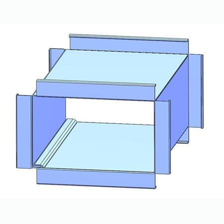 Vertical Duct Seam Closing Machine