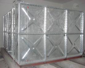 hot dip galvanized water tank