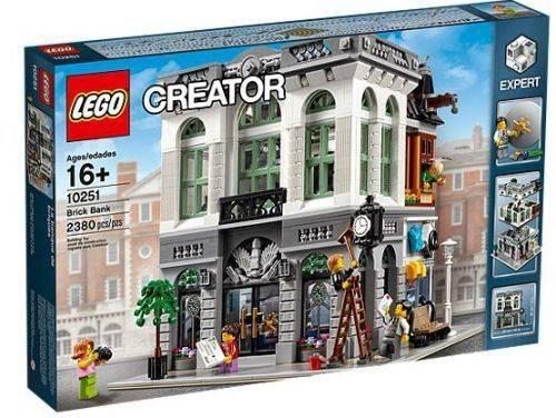 Lego 10251 Creator Brick Bank Set