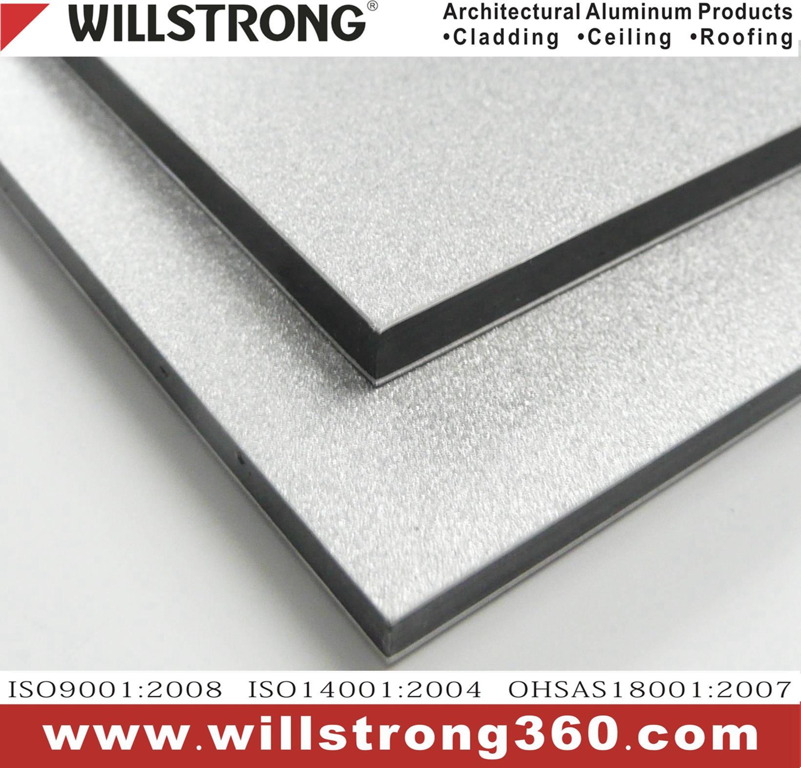 PET Coating Acp Aluminium Composite Material Panel
