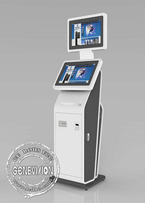 Internet 3G Checking information Touch Screen Digital Signage display for payment and tickets