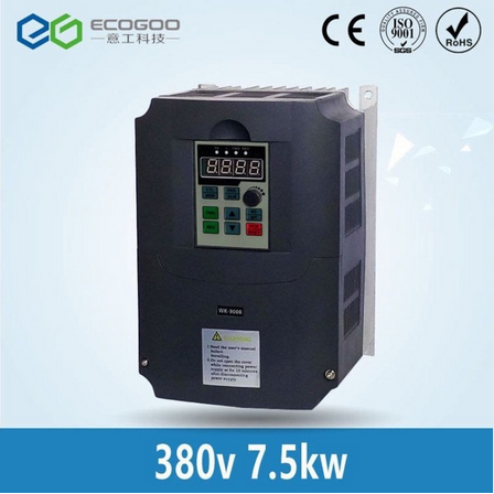 7.5kw 380v AC Frequency Inverter & Converter Output 3 Phase 650HZ ac motor water pump controller /ac